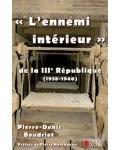 L'ennemi intérieur de la IIIe République (1938-1940)