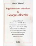 Supplément aux entretiens de Georges Albertini