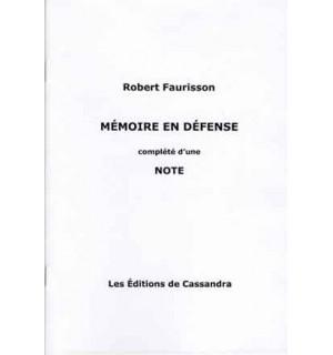 Mémoire en défense (2016)