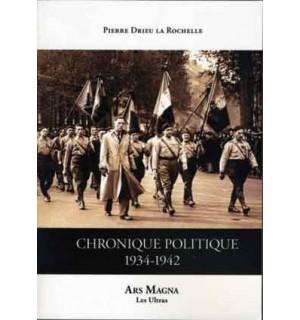 Chronique politique 1934-1942