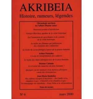 Akribeia, n° 6, mars 2000