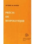Précis de biopolitique