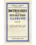 Doctrinaires de la Révolution allemande (1918-1938)
