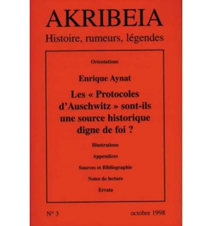 Akribeia, n° 3, octobre 1998