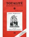 Totalité. Révolution et Tradition, n°26