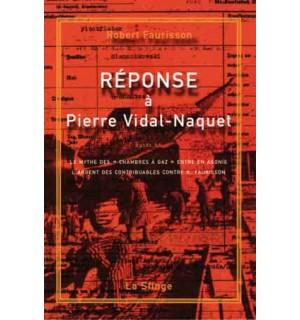 Réponse à Pierre Vidal-Naquet
