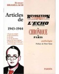 Articles de Révolution nationale, L'Écho de la France, La Chronique de Paris