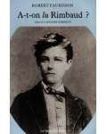 A-t-on lu Rimbaud ?