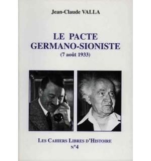 Le Pacte germano-sioniste (7 août 1933)