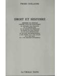 Droit et histoire
