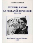 Ledesma Ramos et la Phalange espagnole, 1931-1936