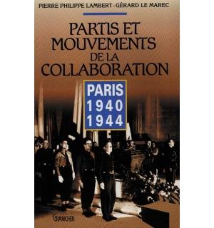 Partis et mouvements de la Collaboration